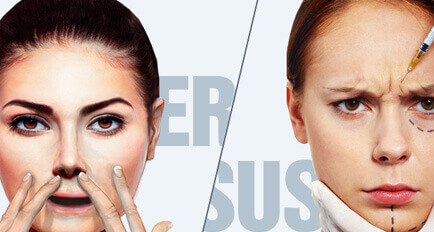 Facial Exercises Versus Botox Injections