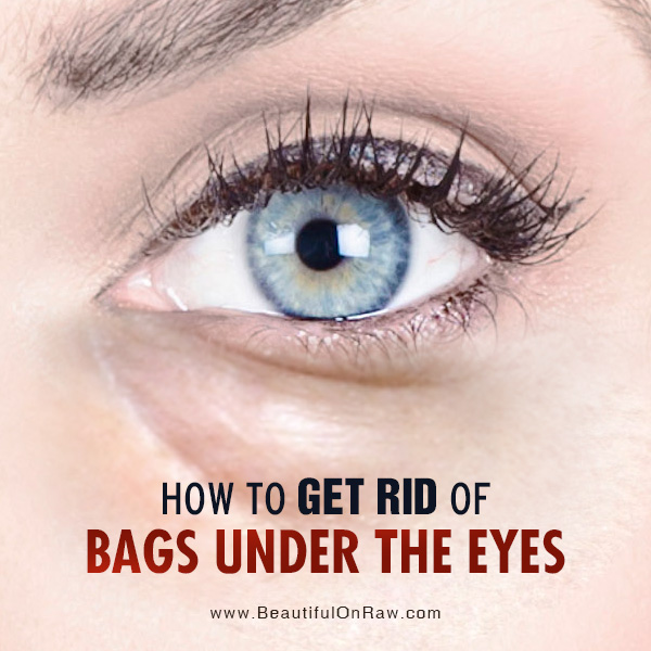 how to avoid bags under eyes