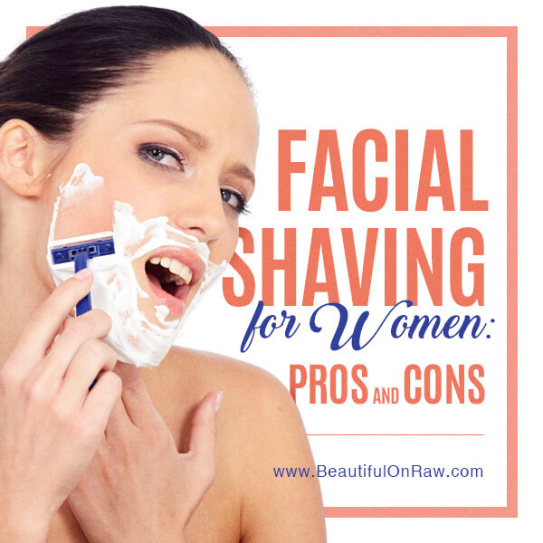 Women who shave facial