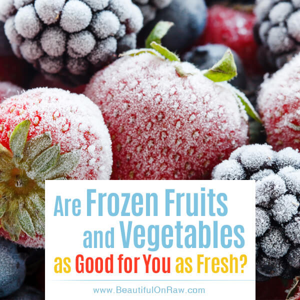 Freezing raw foods beautiful on raw as we enter into the fall and winter season food preservation becomes an issue for those wanting to preserve some of the garden bounty without compromising forumfinder Image collections