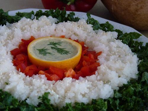 Jicama Salad With Citrus Dill Dressing | Beautiful on Raw