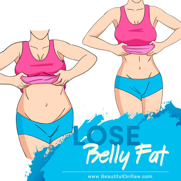 Lose Belly Fat Naturally Beautiful On Raw