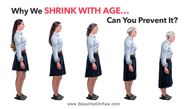 How to Stop Height Loss with Age | Beautiful On Raw