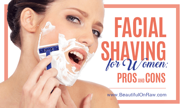 Banner: Facial Shaving for Women: Pros and Cons