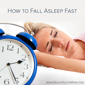 How to Fall Asleep Fast | Beautiful on Raw